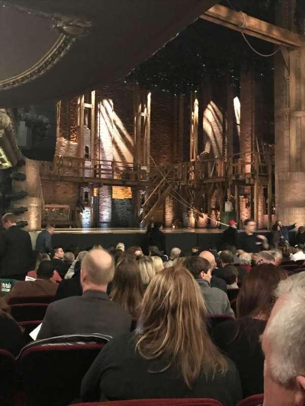 CIBC Theatre, vak: Orch-L, rij: Q, stoel: 19