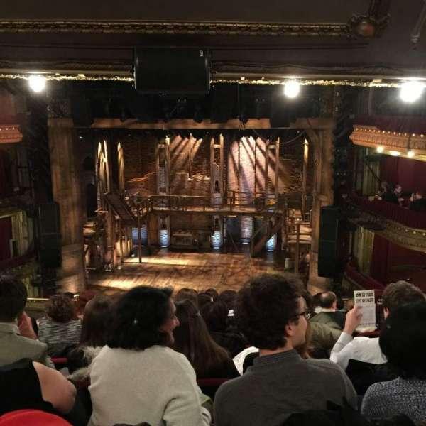 CIBC Theatre, vak: Mezzanine RC, rij: K, stoel: 314