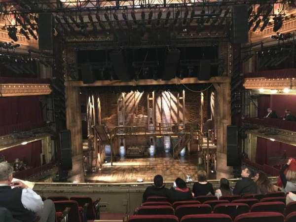 CIBC Theatre, vak: Mezzanine RC, rij: G, stoel: 302