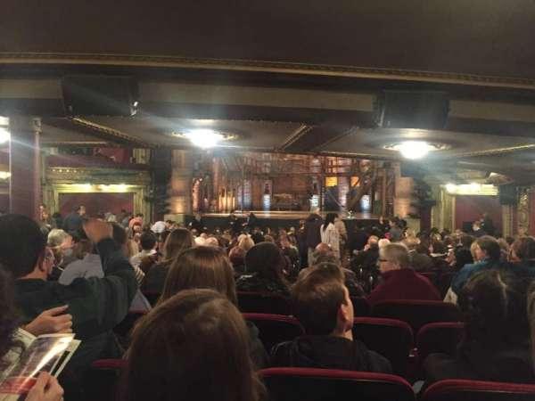CIBC Theatre, vak: Orchestra RC, rij: ZZ, stoel: 121