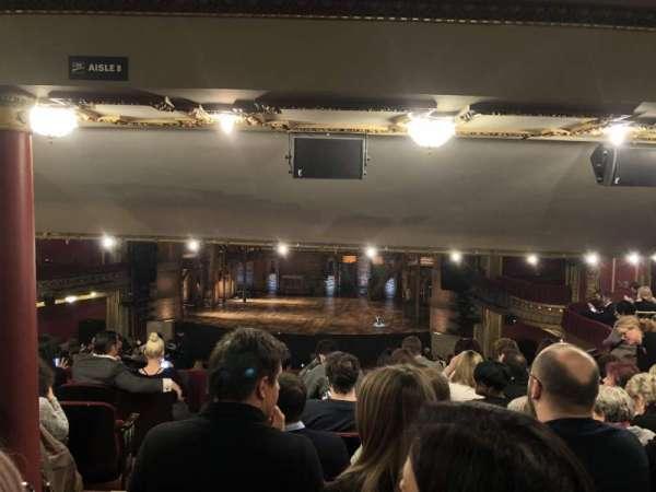 CIBC Theatre, vak: Dress Circle R, rij: G, stoel: 4