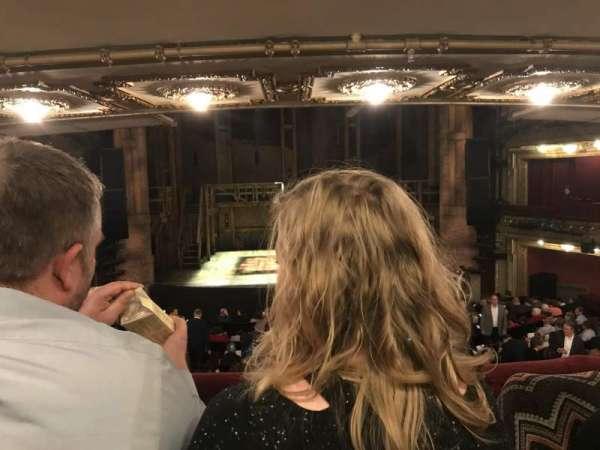 CIBC Theatre, vak: Director circle center, rij: B, stoel: 205
