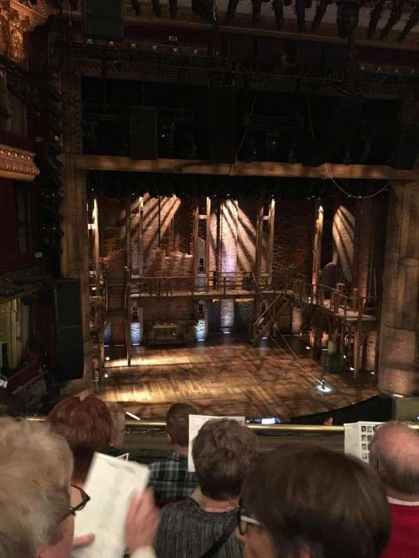CIBC Theatre, vak: Mezzlc, rij: D, stoel: 319
