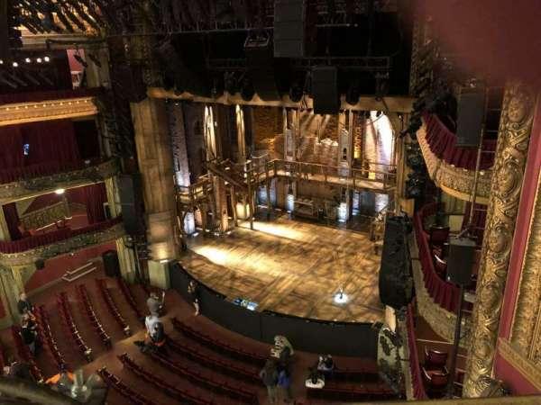 CIBC Theatre, vak: Balcony R, rij: A, stoel: 14