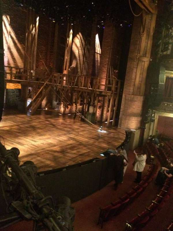 CIBC Theatre, vak: Dress Circle box 3, rij: BX3, stoel: 5