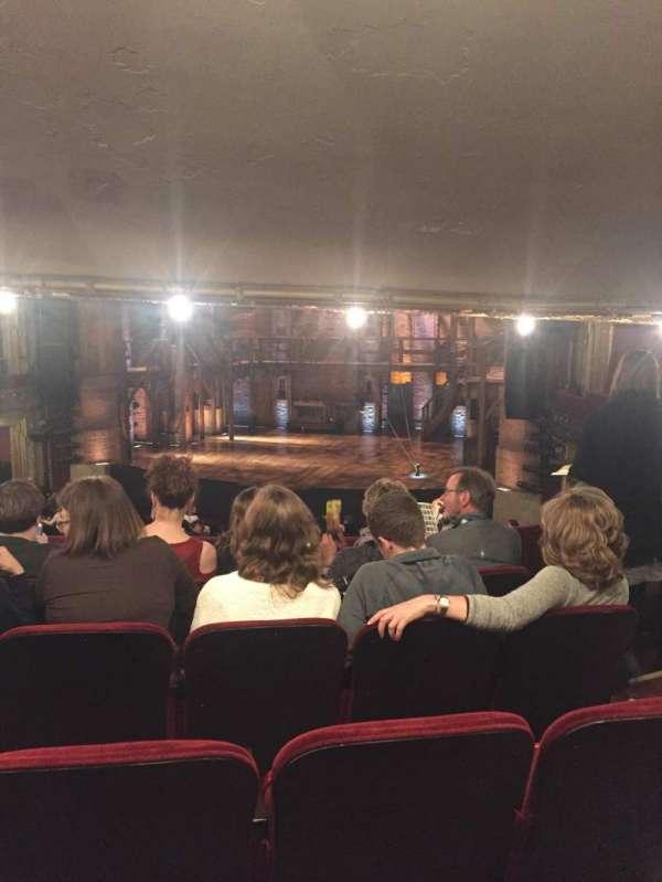 CIBC Theatre, vak: Directors Circle, rij: E, stoel: 238