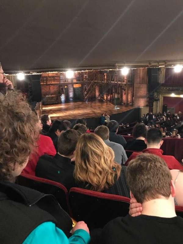 CIBC Theatre, vak: Dress Circle l, rij: E, stoel: 3