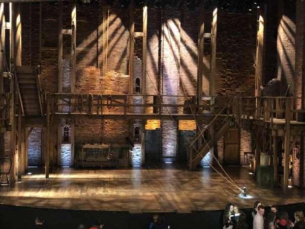 CIBC Theatre, vak: Dress Circle C, rij: A, stoel: 202