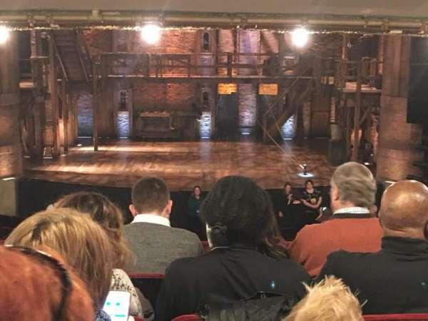 CIBC Theatre, vak: Dress Circle C, rij: E, stoel: 208