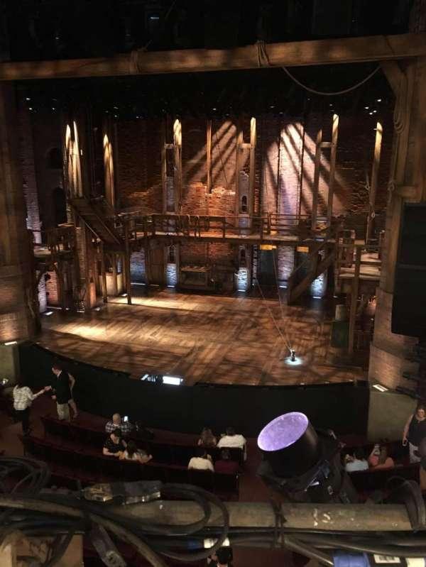 CIBC Theatre, vak: Mezzrc, rij: A, stoel: 318