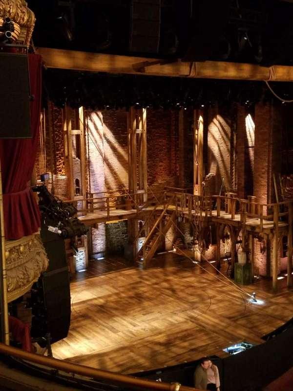 CIBC Theatre, vak: Left Mezzanine, rij: Row C, stoel: Seat 17