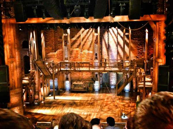 CIBC Theatre, vak: Mezzanine RC, rij: H, stoel: 314