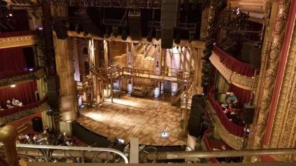 CIBC Theatre, vak: Balcony R, rij: B, stoel: 4,6