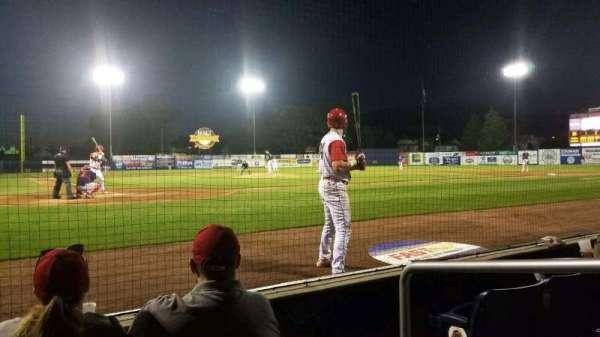 BB&T Ballpark at Historic Bowman Field, vak: F, rij: D, stoel: 2