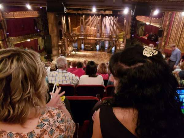 Cibc theatre, vak: Mezzanine RC, rij: L, stoel: 320