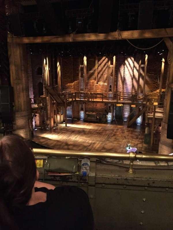 CIBC Theatre, vak: Mezzanine RC, rij: B, stoel: 314