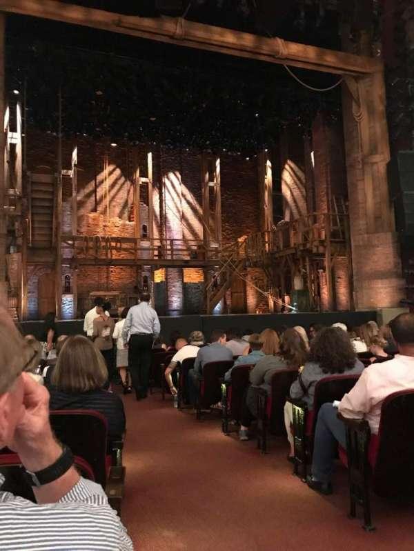 CIBC Theatre, vak: Orchestra L, rij: N, stoel: 1