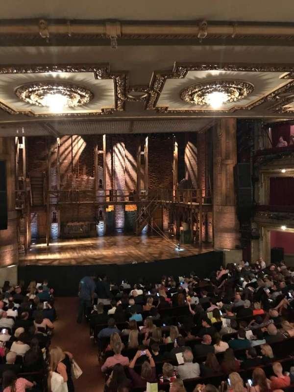 CIBC Theatre, vak: Dress Circle LC, rij: A, stoel: 221