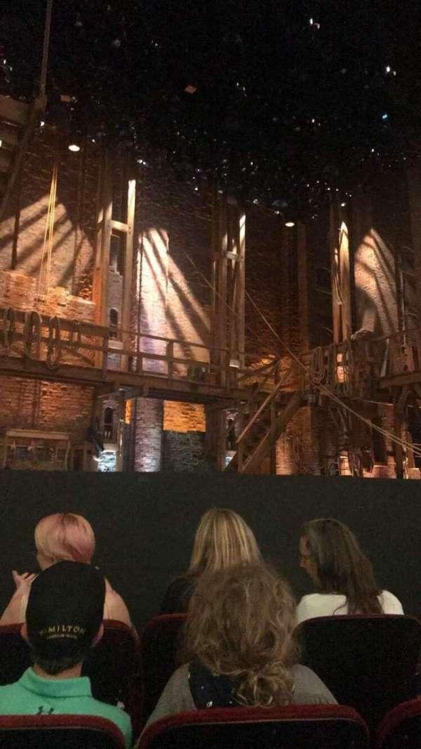 CIBC Theatre, vak: Orchestra L, rij: E, stoel: 9