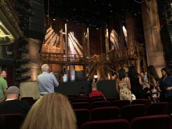 CIBC Theatre, vak: Orchestra L, rij: J, stoel: 13