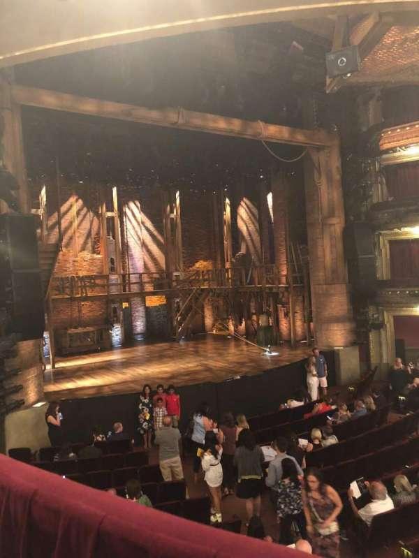 CIBC Theatre, vak: Dress Circle L, rij: A, stoel: 7