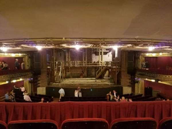 CIBC Theatre, vak: Dress Circle RC, rij: C, stoel: 206