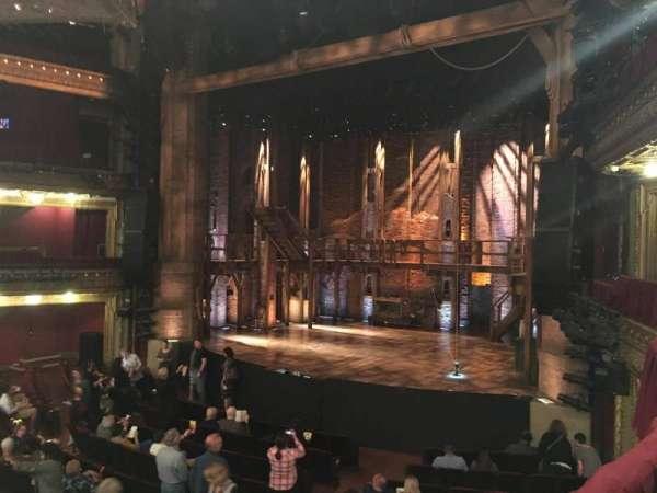 CIBC Theatre, vak: DRCR-R, rij: A, stoel: 8