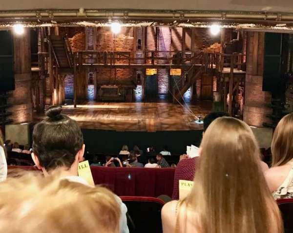 CIBC Theatre, vak: DRCR, rij: D, stoel: 206