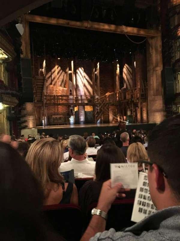 CIBC Theatre, vak: ORCHESTRA L, rij: T, stoel: 7