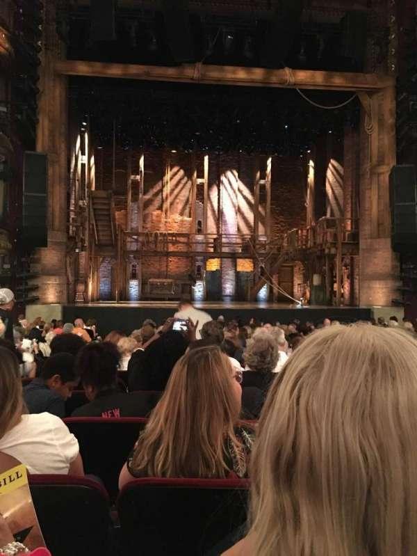 CIBC Theatre, vak: Orchestra C, rij: T, stoel: 104