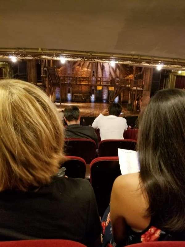 CIBC Theatre, vak: Dress Circle RC, rij: D, stoel: 207