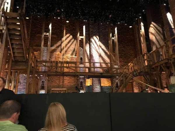CIBC Theatre, vak: Orchestra C, rij: D, stoel: 102