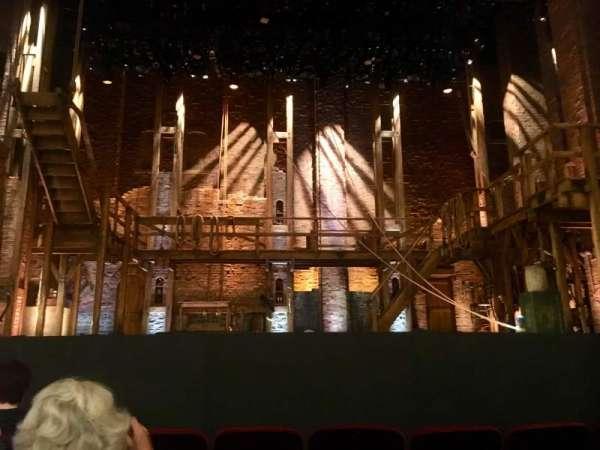 CIBC Theatre, vak: Orchestra c, rij: F, stoel: 105