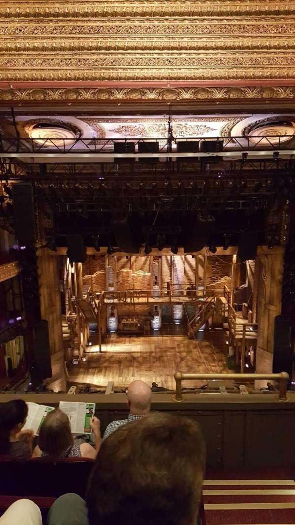 CIBC Theatre, vak: Balcony LC, rij: D, stoel: 401