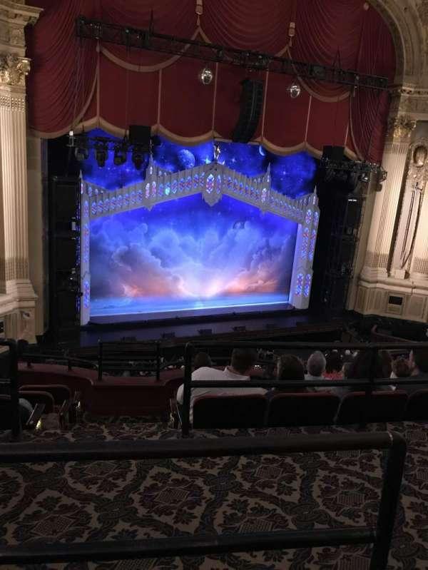 Boston Opera House, vak: MEZLFT, rij: B, stoel: 5