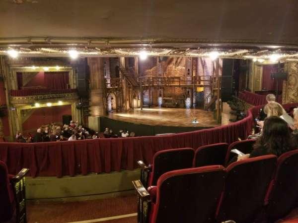 CIBC Theatre, vak: Dress circle r, rij: D, stoel: 4
