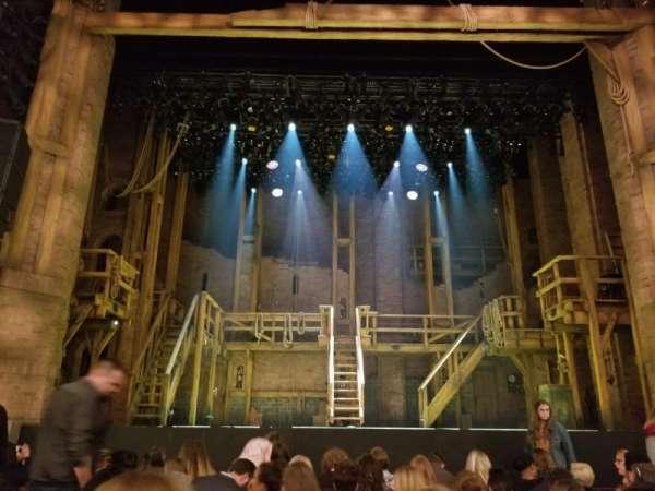 CIBC Theatre, vak: Orchestra C, rij: J, stoel: 105
