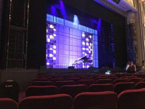 Hollywood Pantages Theatre, vak: OrchLC, rij: H, stoel: 312