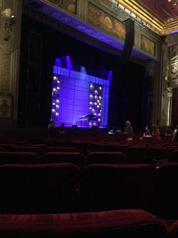 Hollywood Pantages Theatre, vak: Orchestra L, rij: S, stoel: 9