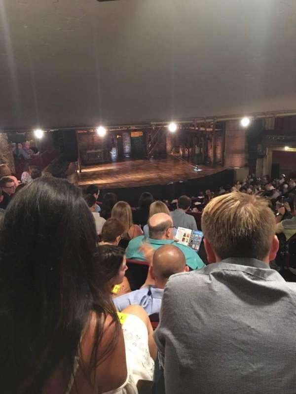 CIBC Theatre, vak: Dress Circle L, rij: F, stoel: 3