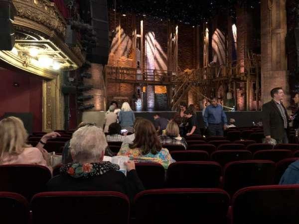 CIBC Theatre, vak: Orchestra L, rij: N, stoel: 15