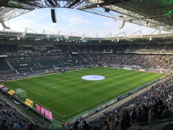 Borussia Park, vak: 7A, rij: 11, stoel: 50
