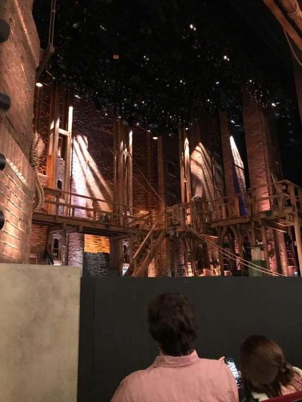 CIBC Theatre, vak: Orchestra L, rij: D, stoel: 21