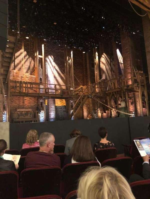 CIBC Theatre, vak: Orchestra L, rij: G, stoel: 11