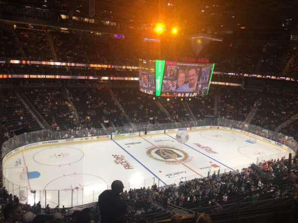 T-Mobile Arena, vak: 202, rij: F, stoel: 6