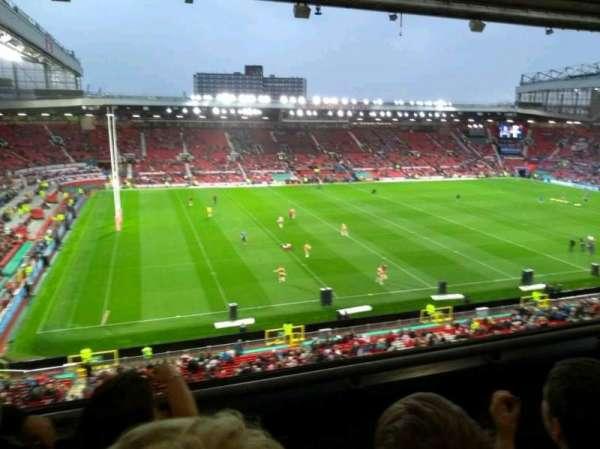 Old Trafford, vak: N3401, rij: 3, stoel: 219