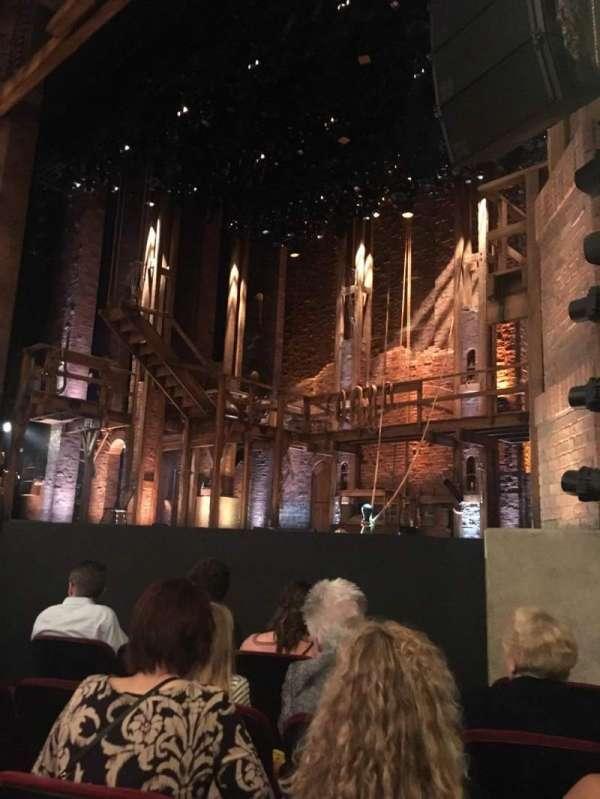 CIBC Theatre, vak: Orchestra R, rij: F, stoel: 16