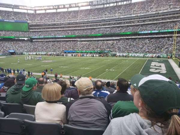 MetLife Stadium, vak: 134, rij: 26, stoel: 12