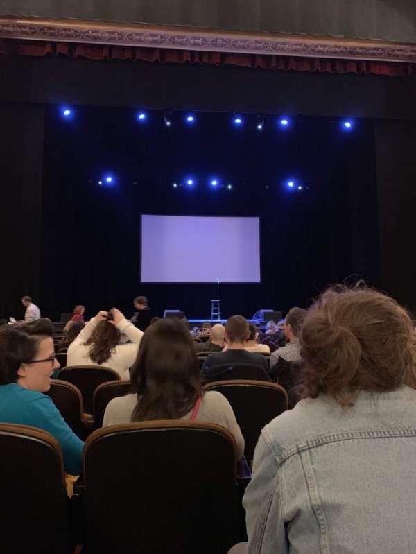 Paramount Theatre (Seattle), vak: MF3, rij: M, stoel: 3