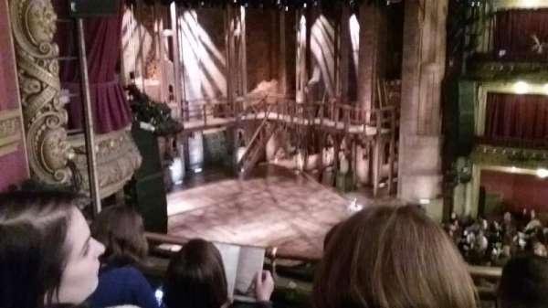 CIBC Theatre, vak: Mezzanine L, rij: C, stoel: 17